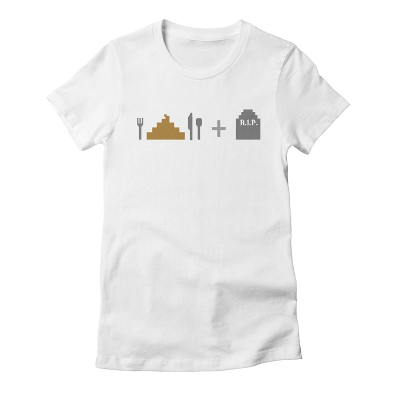 E. S. & D. Women's Fitted T-Shirt by chumpmagic's Artist Shop