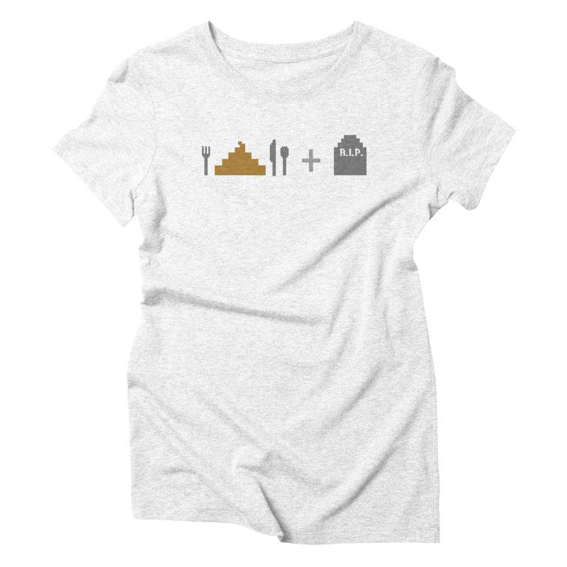 E. S. & D. Women's Triblend T-shirt by chumpmagic's Artist Shop