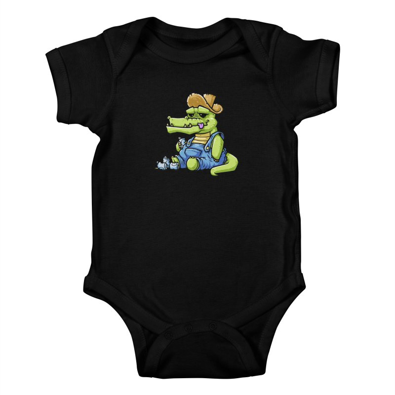 Ale-Gator Kids Baby Bodysuit by chumpmagic's Artist Shop