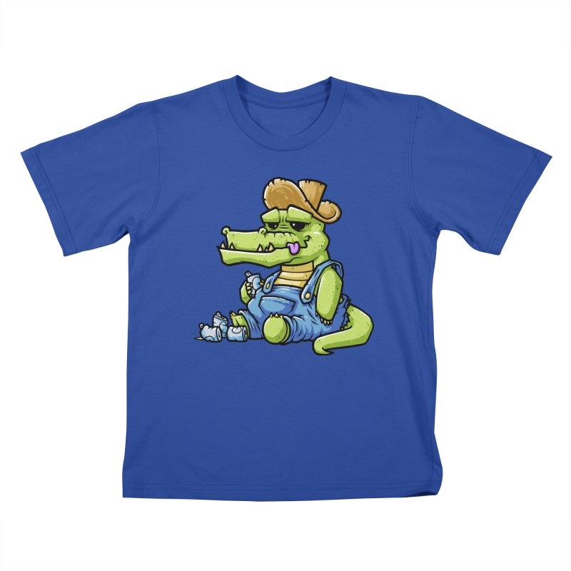 Ale-Gator Kids T-Shirt by chumpmagic's Artist Shop