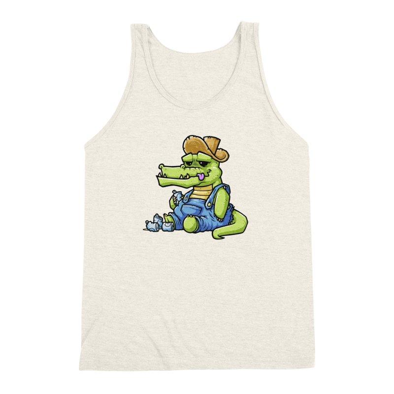 Ale-Gator Men's Triblend Tank by chumpmagic's Artist Shop