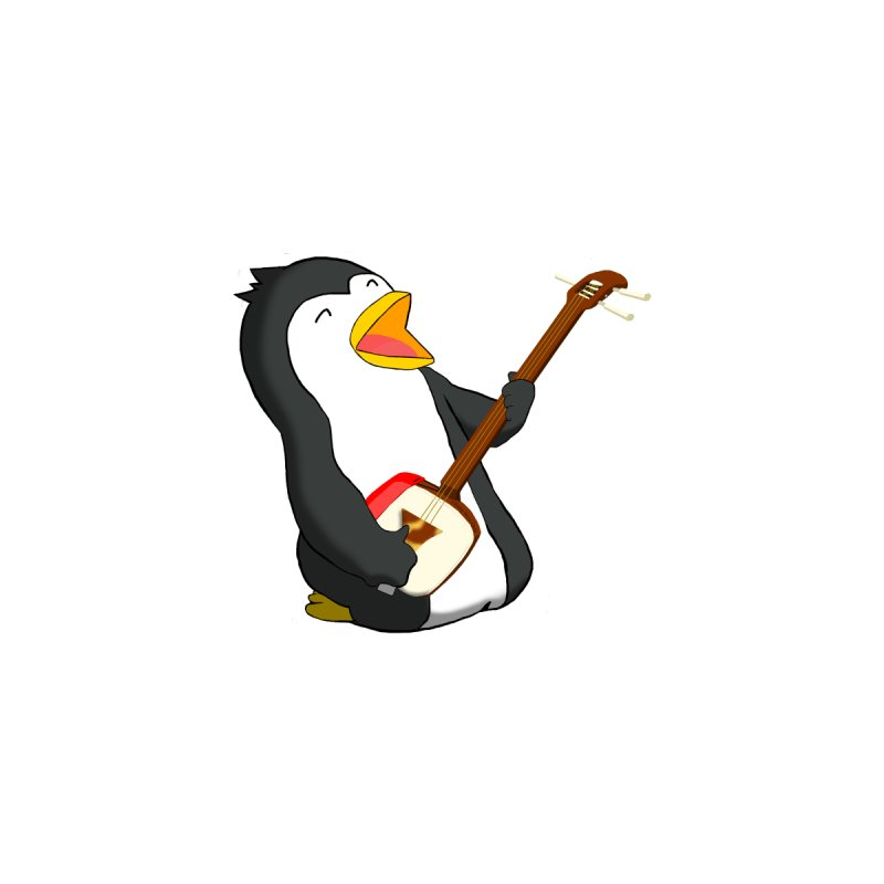 Shamisen Penguin by Chung's Musical Penguins
