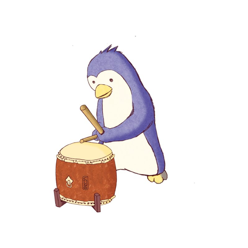 Taiko Penguin (Beta) by Chung's Musical Penguins