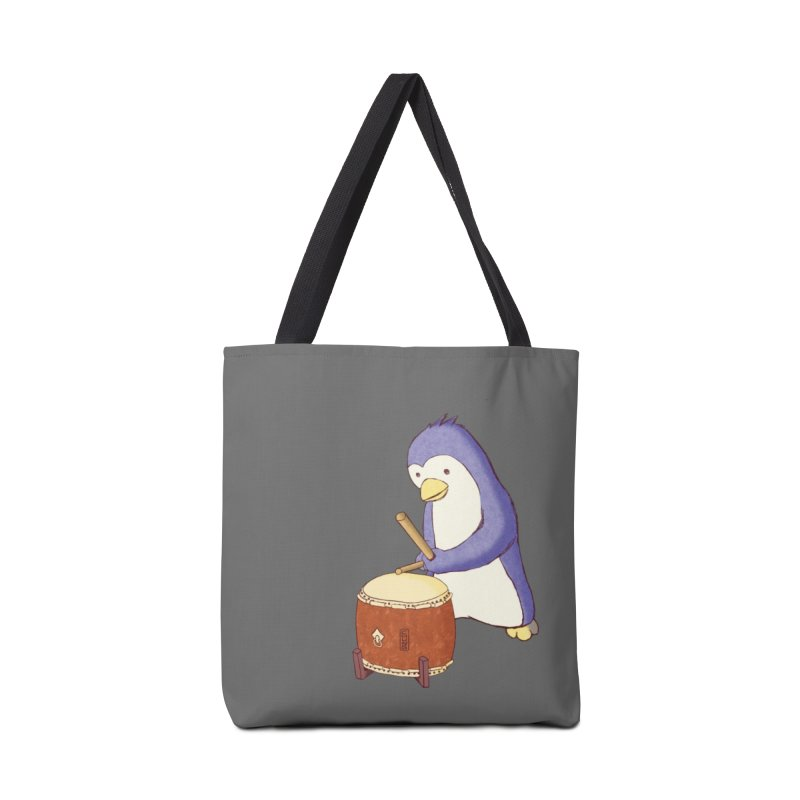 Taiko Penguin (Beta) Accessories Tote Bag Bag by Chung's Musical Penguins