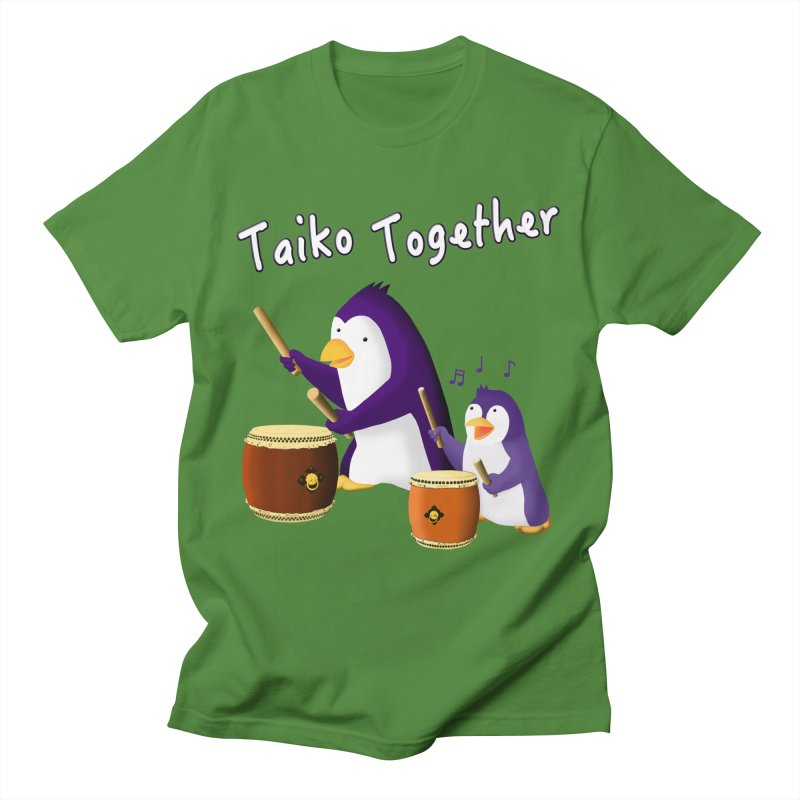 """""""Taiko Together"""" Men's Regular T-Shirt by Chung's Musical Penguins"""