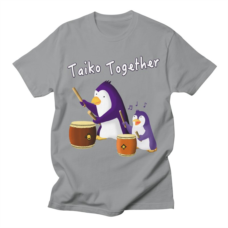 """Taiko Together"" Men's Regular T-Shirt by Chung's Musical Penguins"