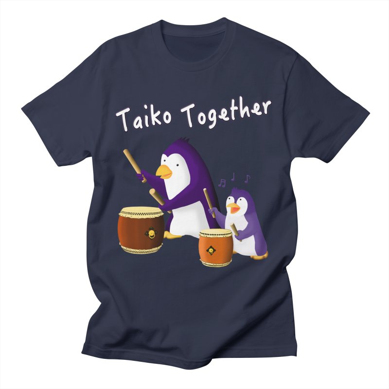 """Taiko Together"" Women's Regular Unisex T-Shirt by Chung's Musical Penguins"