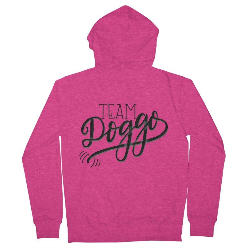 Team Doggo Women's Zip-Up Hoody by chungnguyen's Artist Shop