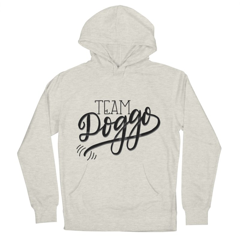 Team Doggo Women's French Terry Pullover Hoody by chungnguyen's Artist Shop