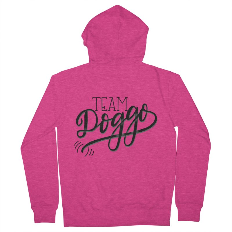 Team Doggo Women's Zip-Up Hoody by chungnguyen's Artist Shop