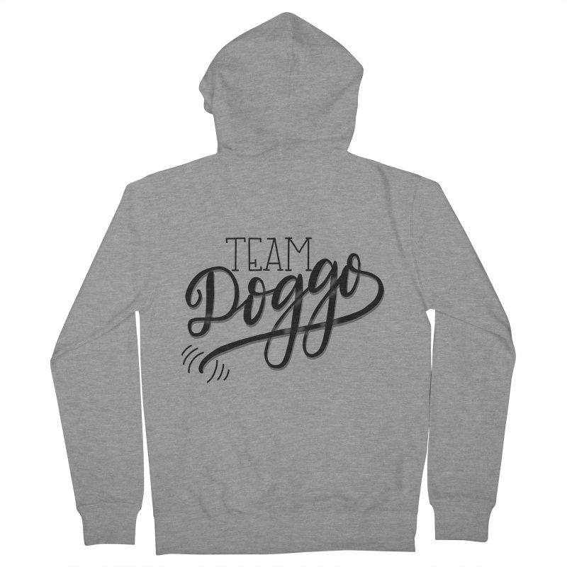 Team Doggo Men's Zip-Up Hoody by chungnguyen's Artist Shop