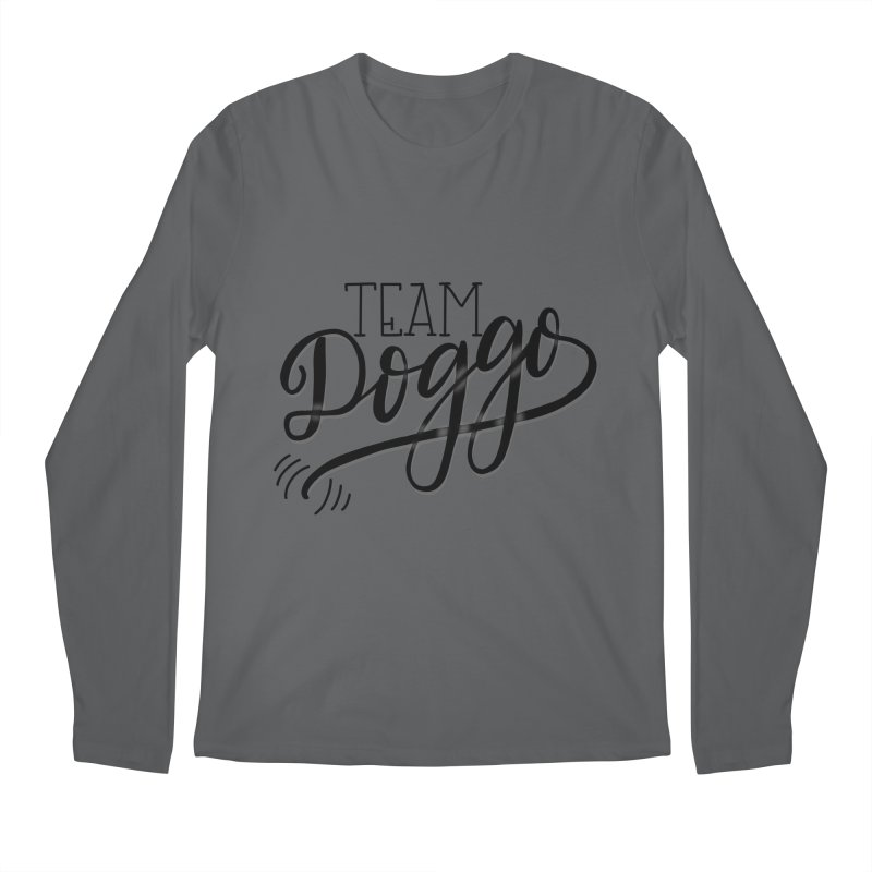 Team Doggo Men's Regular Longsleeve T-Shirt by chungnguyen's Artist Shop