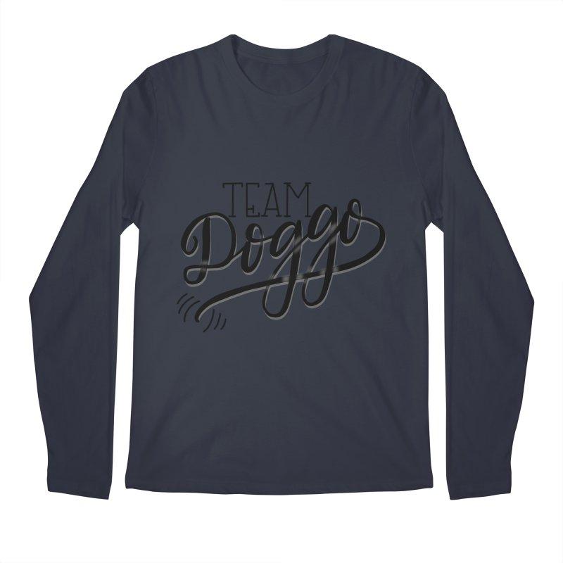 Team Doggo Men's Longsleeve T-Shirt by chungnguyen's Artist Shop