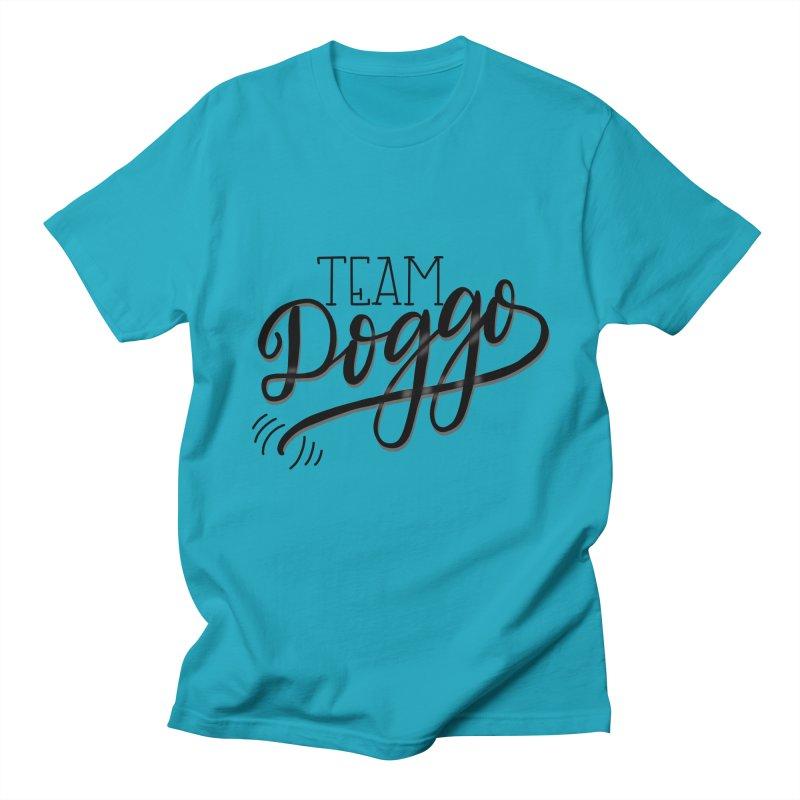 Team Doggo Men's T-Shirt by chungnguyen's Artist Shop