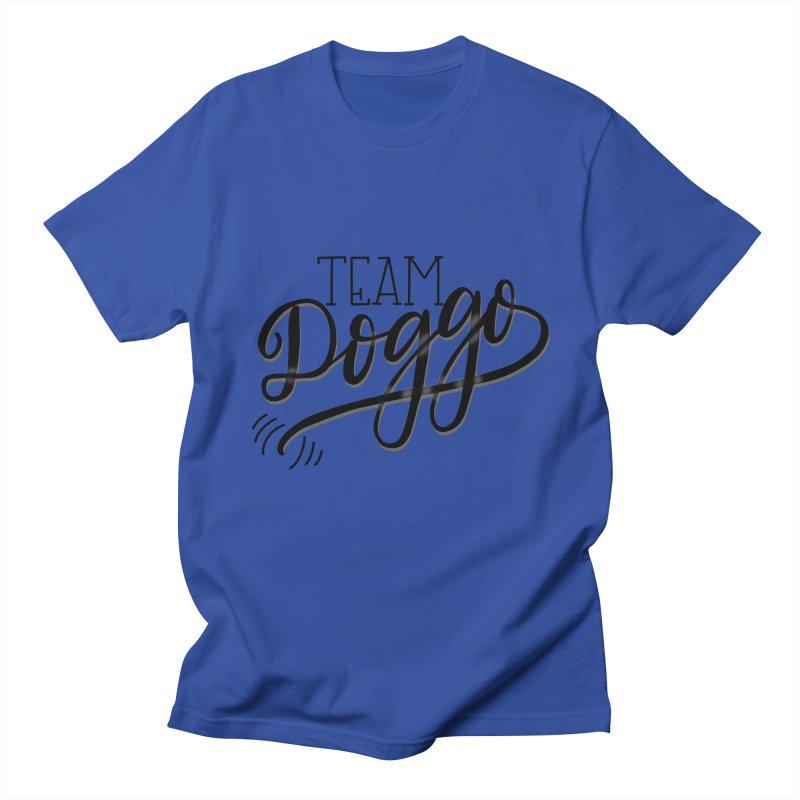 Team Doggo Women's Regular Unisex T-Shirt by chungnguyen's Artist Shop