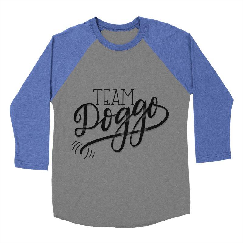 Team Doggo Women's Baseball Triblend Longsleeve T-Shirt by chungnguyen's Artist Shop