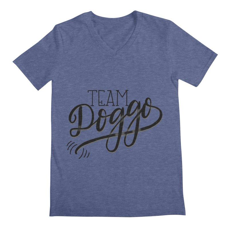 Team Doggo Men's V-Neck by chungnguyen's Artist Shop