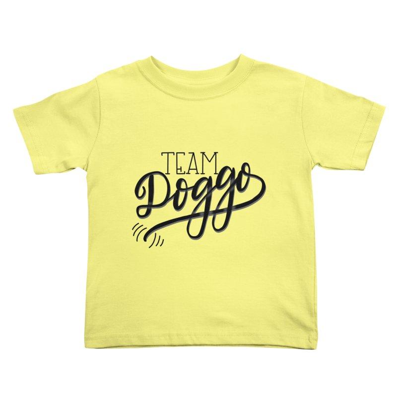 Team Doggo Kids Toddler T-Shirt by chungnguyen's Artist Shop