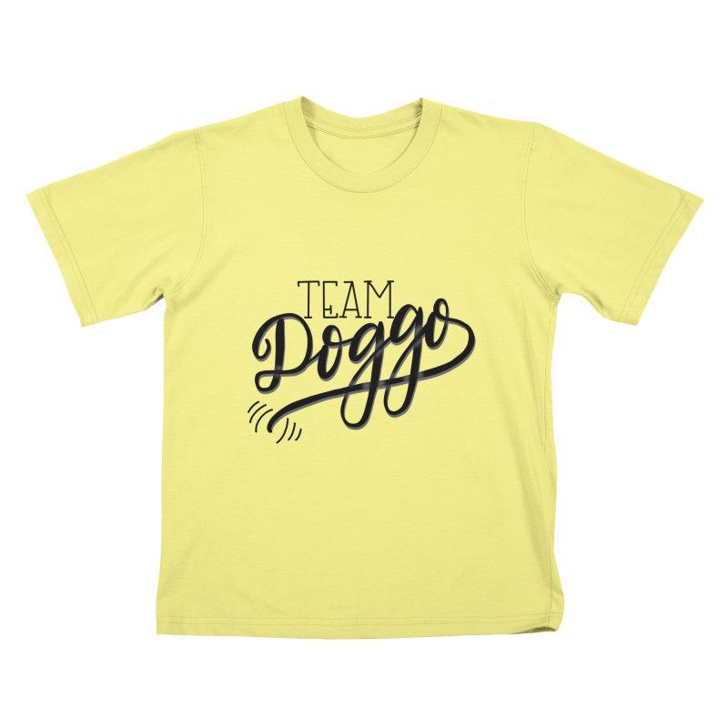 Team Doggo Kids T-shirt by chungnguyen's Artist Shop