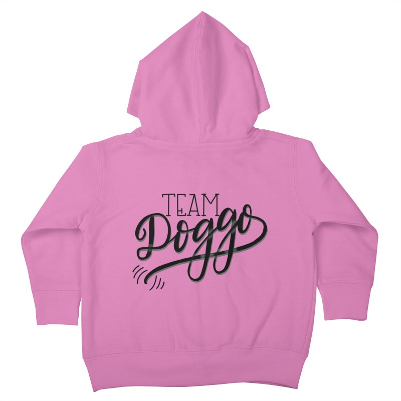 Team Doggo Kids Toddler Zip-Up Hoody by chungnguyen's Artist Shop