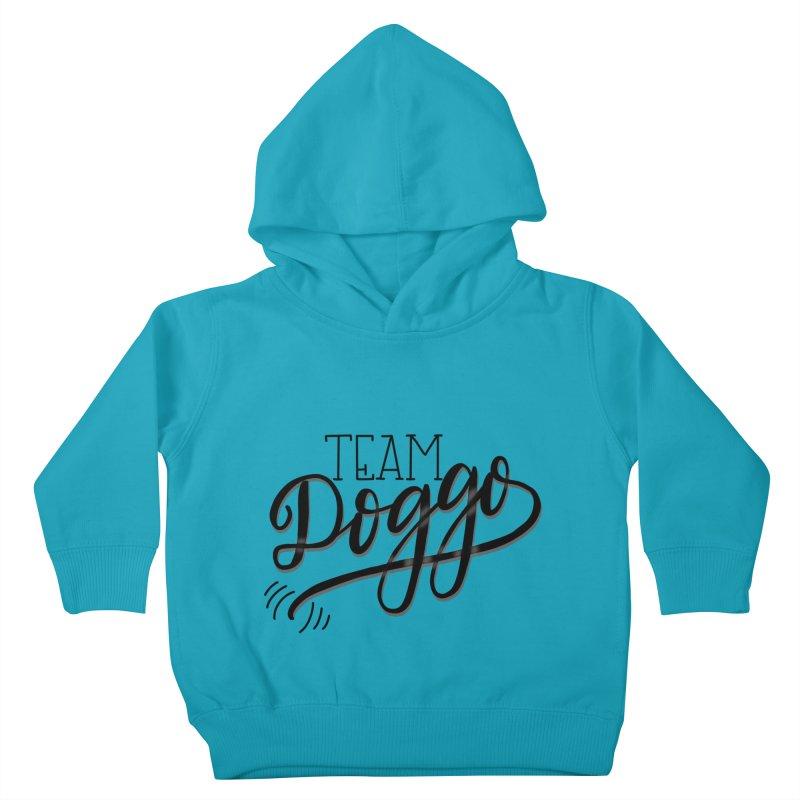 Team Doggo Kids Toddler Pullover Hoody by chungnguyen's Artist Shop