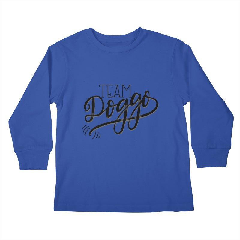 Team Doggo Kids Longsleeve T-Shirt by chungnguyen's Artist Shop