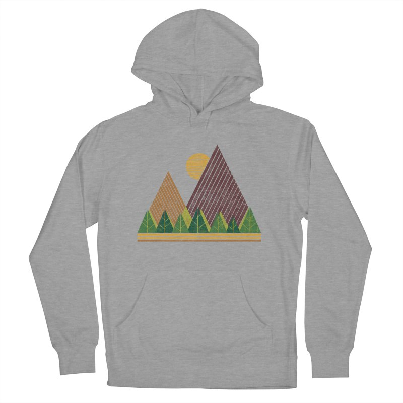 Simple Landscape (Light Version) Women's Pullover Hoody by chunkydesign's Artist Shop