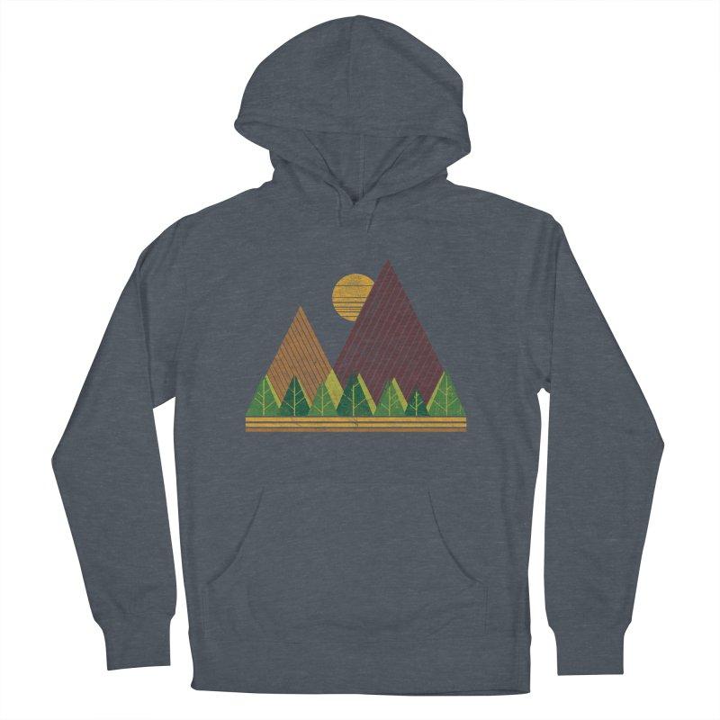 Simple Landscape (Light Version) Men's Pullover Hoody by chunkydesign's Artist Shop