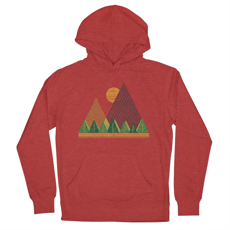 Simple Landscape (Light Version) Men's Pullover Hoody by chunkydesign's Artist Shop