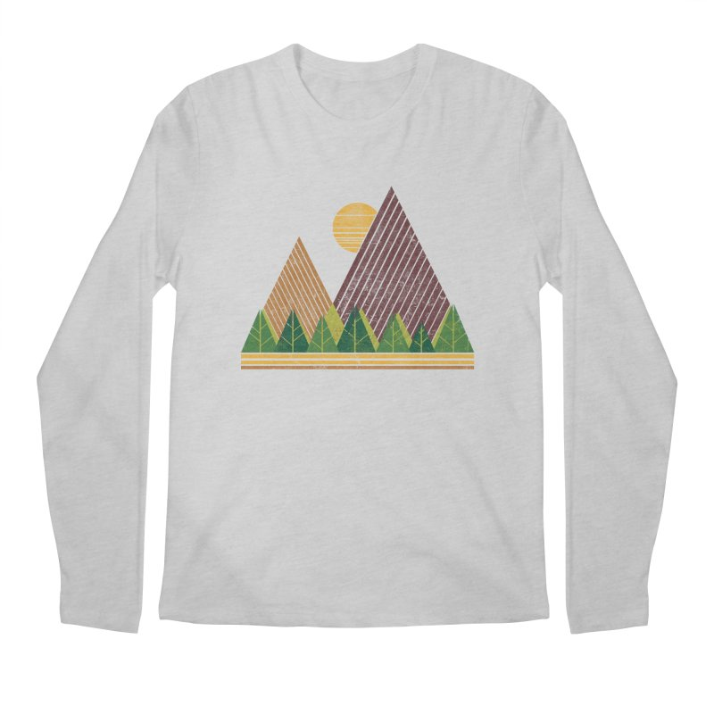 Simple Landscape (Light Version) Men's Longsleeve T-Shirt by chunkydesign's Artist Shop