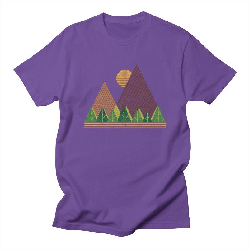 Simple Landscape (Light Version) Men's T-shirt by chunkydesign's Artist Shop