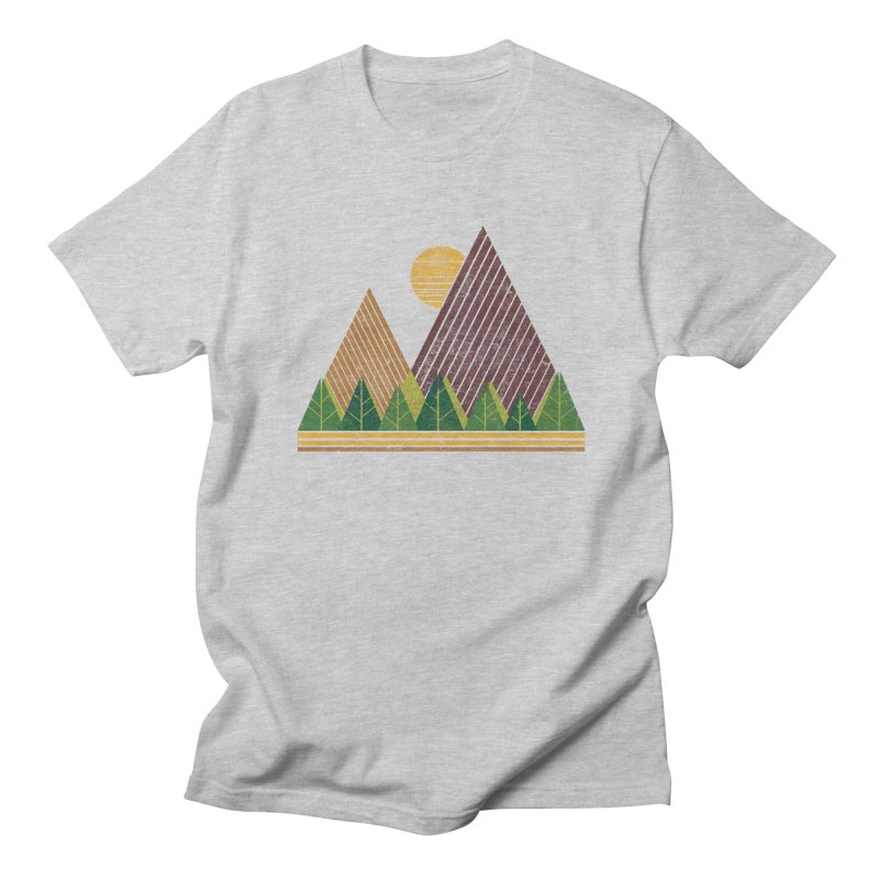 Simple Landscape (Light Version) Men's T-Shirt by chunkydesign's Artist Shop