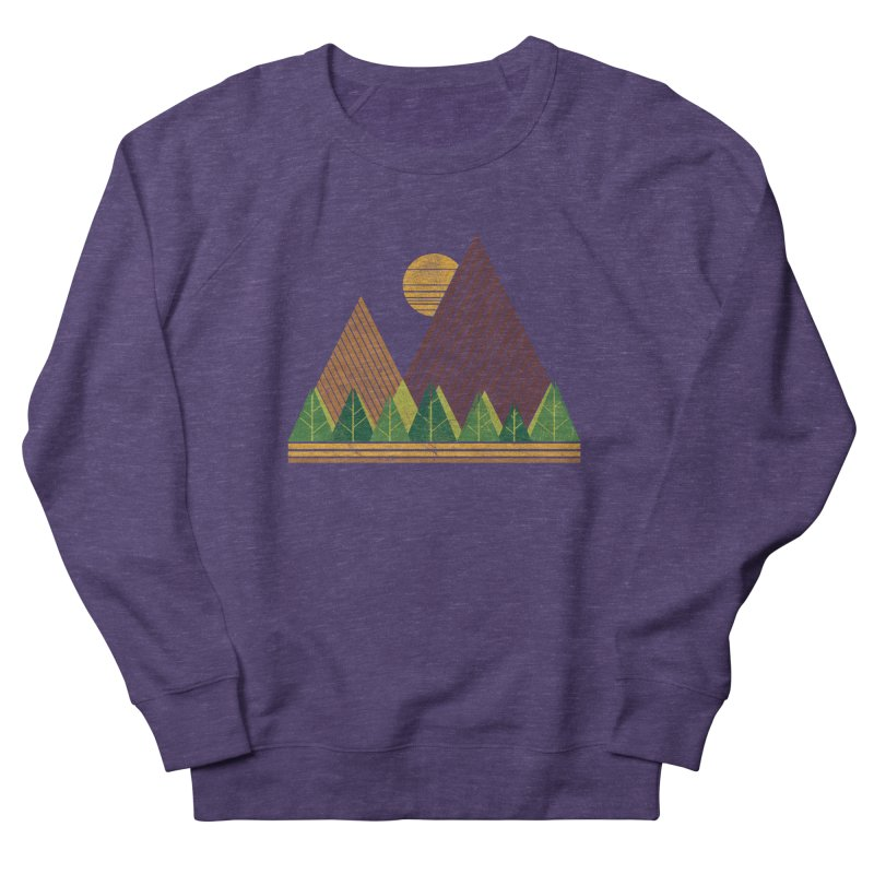 Simple Landscape (Light Version) Women's Sweatshirt by chunkydesign's Artist Shop