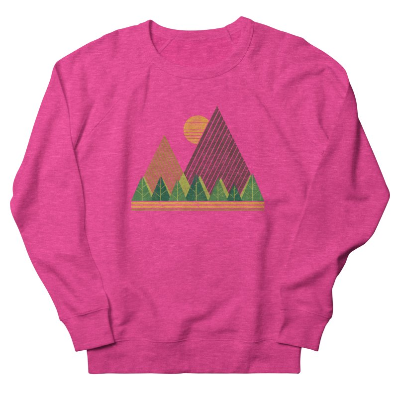 Simple Landscape (Light Version) Women's Sweatshirt by chunkydesign's Artist Shop