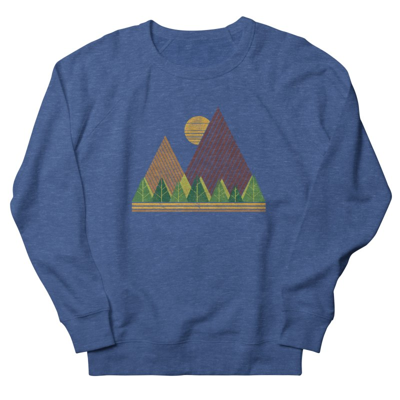 Simple Landscape (Light Version) Men's Sweatshirt by chunkydesign's Artist Shop