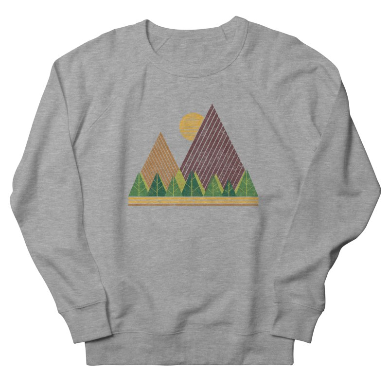 Simple Landscape (Light Version) Men's Sweatshirt by chunkydesign's Artist Shop