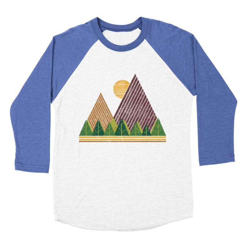 Simple Landscape (Light Version) Women's Baseball Triblend T-Shirt by chunkydesign's Artist Shop