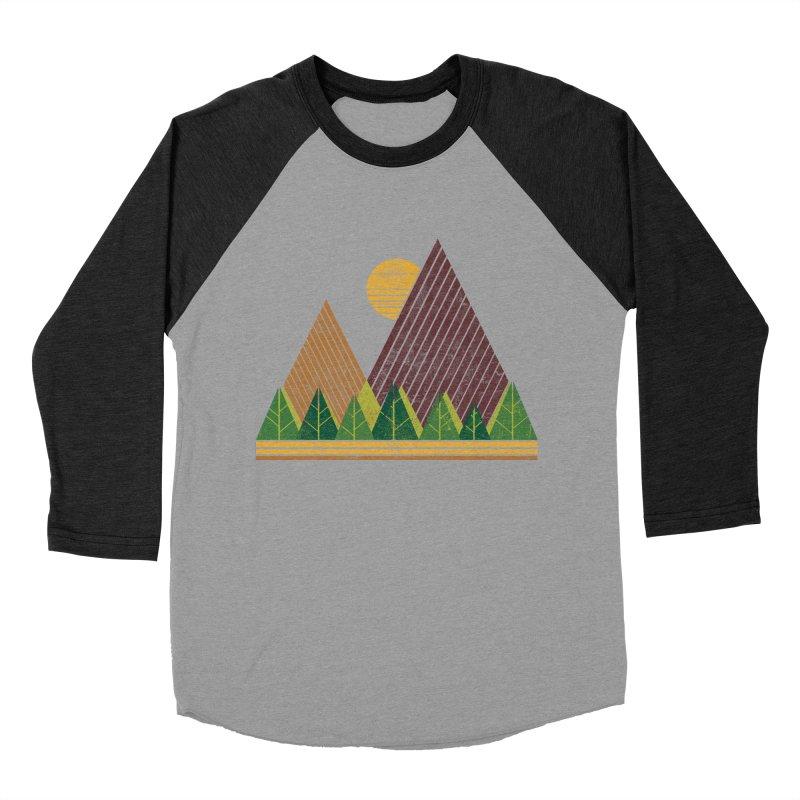 Simple Landscape (Light Version) Women's Baseball Triblend T-Shirt by chunkydesign's Artist Shop
