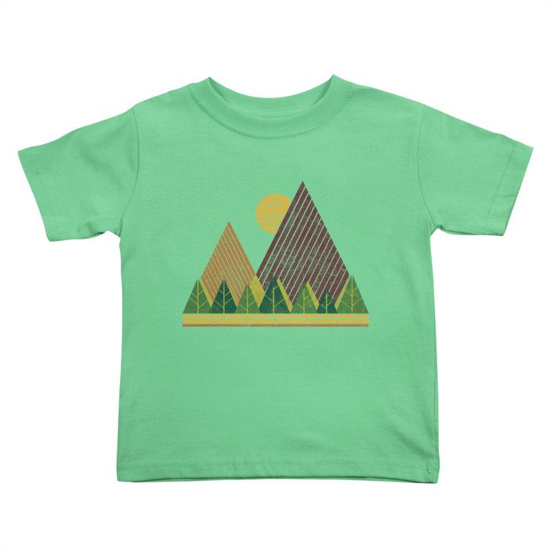 Simple Landscape (Light Version) Kids Toddler T-Shirt by chunkydesign's Artist Shop