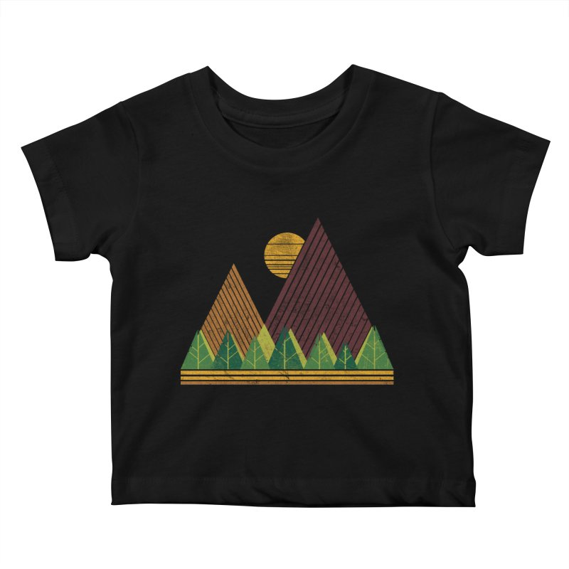Simple Landscape (Light Version) Kids Baby T-Shirt by chunkydesign's Artist Shop