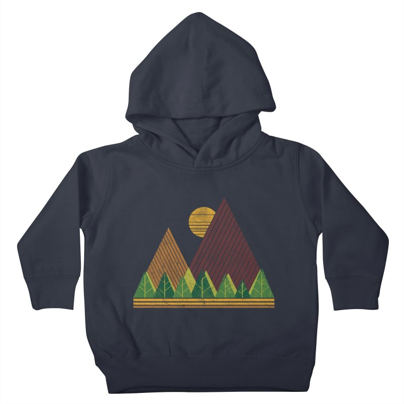 Simple Landscape (Light Version) Kids Toddler Pullover Hoody by chunkydesign's Artist Shop