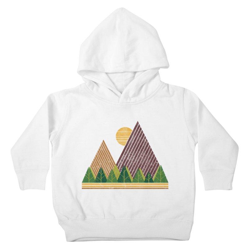 Simple Landscape (Light Version) Kids Toddler Pullover Hoody by chunkydesign's Artist Shop