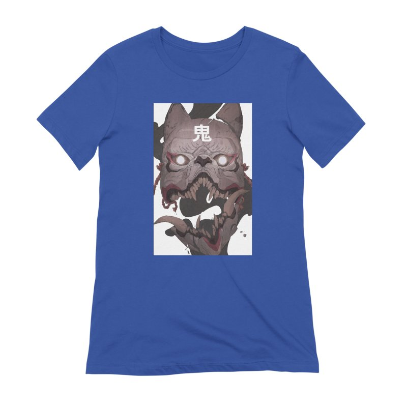 Kitsune Women's Extra Soft T-Shirt by Chun Lo's Artist Shop