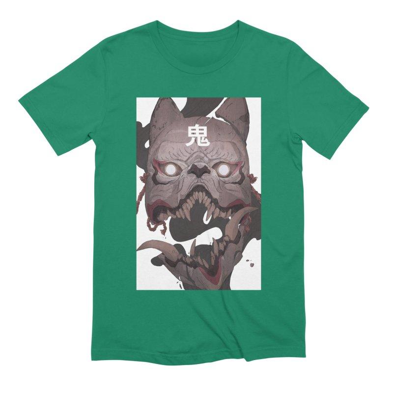 Kitsune Men's Extra Soft T-Shirt by Chun Lo's Artist Shop