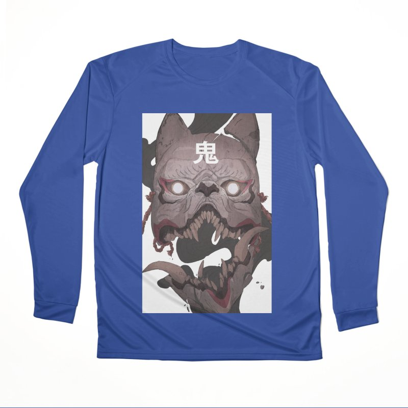 Kitsune Women's Performance Unisex Longsleeve T-Shirt by Chun Lo's Artist Shop