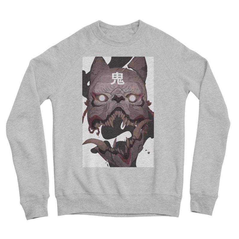 Kitsune Women's Sponge Fleece Sweatshirt by Chun Lo's Artist Shop