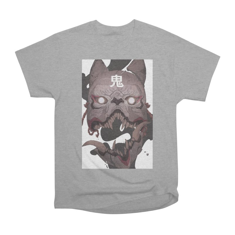 Kitsune Women's Heavyweight Unisex T-Shirt by Chun Lo's Artist Shop
