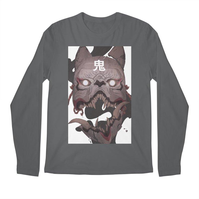 Kitsune Men's Regular Longsleeve T-Shirt by Chun Lo's Artist Shop