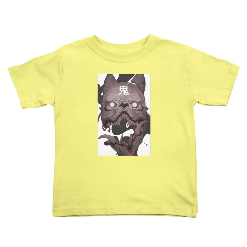Kitsune Kids Toddler T-Shirt by Chun Lo's Artist Shop