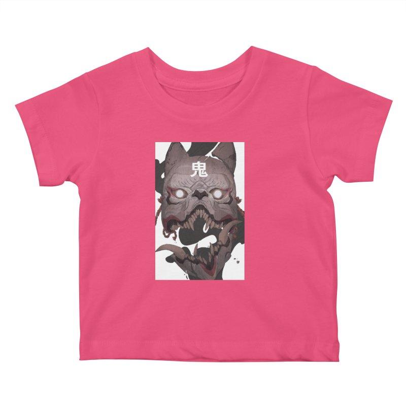 Kitsune Kids Baby T-Shirt by Chun Lo's Artist Shop